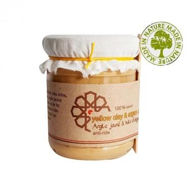 Eva Beauty - Masque argile jaune et huile d'argan 220 gr - Evabeauty