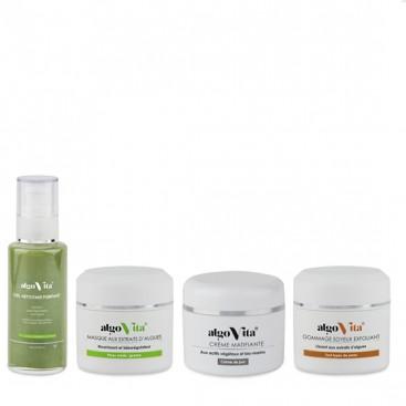 AlgoVita - Pack soin routine peau mixte à grasse - Algovita