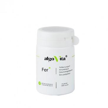 AlgoVita - Complément alimentaire Fer+ gélules - Algovita