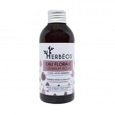 Herbèos - Eau florale de géranium rosat - Herbeos