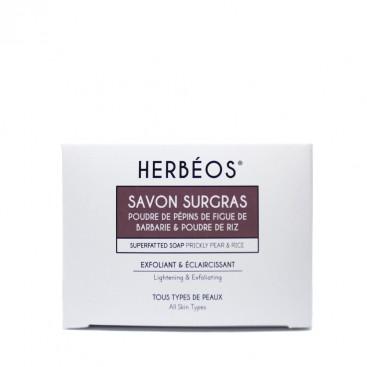 Herbèos - Savon exfoliant éclaircissant - Herbeos