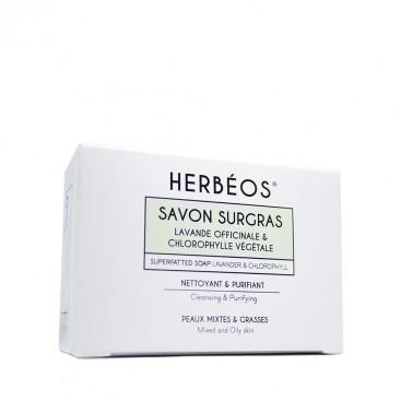 Herbèos - Savon nettoyant purifiant - Herbeos