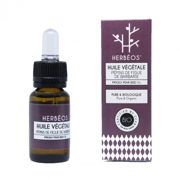Herbèos - Huile de pépins de figue de barbarie biologique 35ml - Herbeos