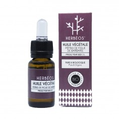 Herbèos - Huile de pépins de figue de barbarie biologique 15 ml - Herbeos