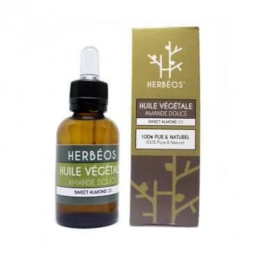 Herbèos - Huile d'amande douce - Herbeos