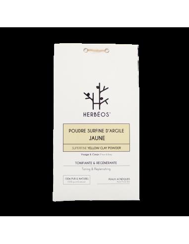 Herbèos - Argile Jaune Surfine 200gr - Herbeos