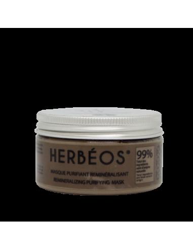 Herbèos - Masque Visage reminéralisant - Herbeos