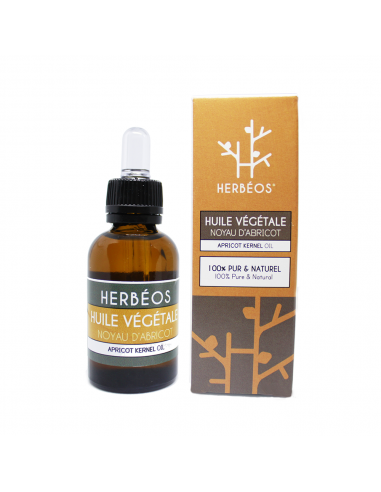 Herbèos - Huile de noyau d'abricot 35ml - Herbeos