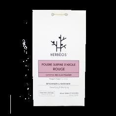 Herbèos - Argile Rouge Surfine 200gr - Herbeos