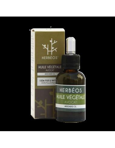 Herbèos - Huile d'avocat 35ml - Herbeos