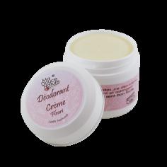 Déodorant crème fleurie -...