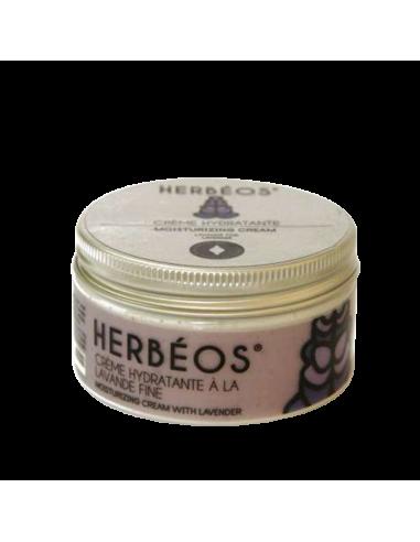 Herbèos - Crème hydratante à la lavande fine - Herbeos