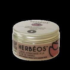 Herbèos - Crème hydratante à la rose de Damas - Herbeos