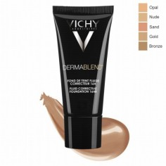 Vichy - VICHY Dermablend Fond de Teint fluide correcteur 16h Teinte 25 Nude, 30ml