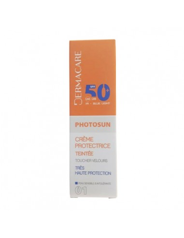 Dermacare - DERMACARE PHOTOSUN CRÈME Teinté 01 PROTECTRICE SPF50+