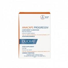 Ducray - DUCRAY ANACAPS PROGRESSIV Complément alimentaire 30 GéLules