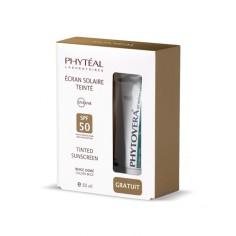 Phyteal - PHYTÉAL écran solaire teinté beige doré SPF 50 UVA Tube 50 ml
