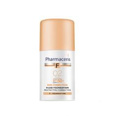 Pharmaceris - Pharmaceris Fluide Fondation Couvrance totale 02 SPF50+
