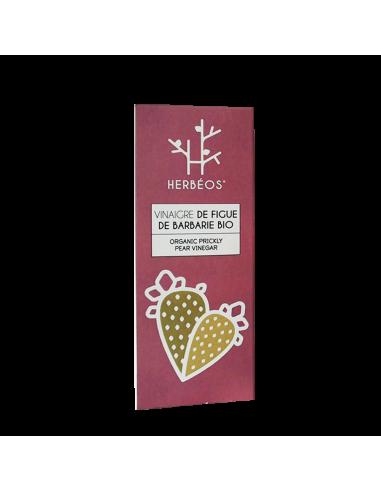 Herbèos - Vinaigre de figue de barbarie 125ml - Herbeos