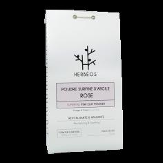 Herbèos - Argile rose surfine - Herbeos