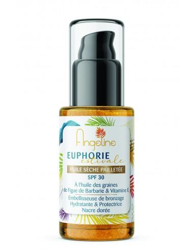Prosmetic's - Huile sèche pailletée SPF 30 - Prosmetics