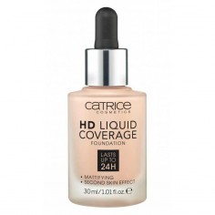 "Catrice - CATRICE - FOND DE TEINT ""HD LIQUID COVERAGE FOUNDATION"" "" 10 light beige"""