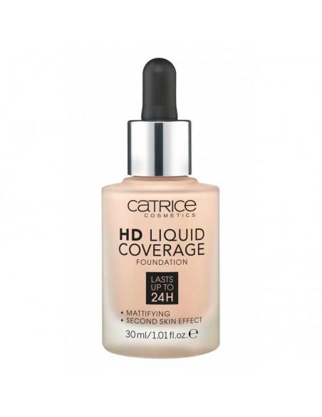 "Catrice - CATRICE - FOND DE TEINT ""HD LIQUID COVERAGE FOUNDATION"" "" 10 light beige"""