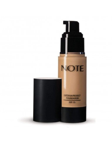 NOTE - NOTE _ DETOX & POTECT FOUNDATION SPF15
