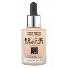 "Catrice - CATRICE - FOND DE TEINT ""HD LIQUID COVERAGE FOUNDATION"" "" 20 Rose beige"""