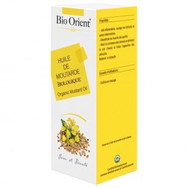 Bio orient - Huile de Moutarde Biologique 90 ml (زيت الخردل) - Bio orient