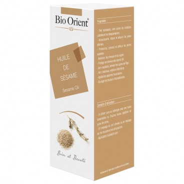 Bio orient - Huile de Sésame 90 ml - Bio orient