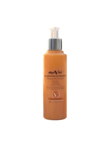 AlgoVita - Gel nettoyant éclaircissant peaux normales et sèches - Algovita