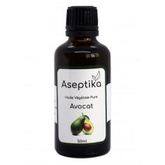 Aseptika - Huile végétale pure d'avocat 50ml - Aseptika