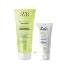 SVR - SVR Sebiaclear gel nettoyant + SEBIACLEAR Crème SPF50 (09/2021)