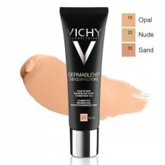 Vichy - VICHY DERMABLEND [3D CORRECTION] Fond de teint SAND 35 peaux grasses à tendance acnéique