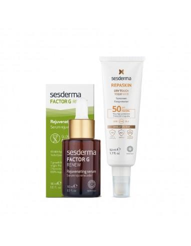 Sesderma - Sesderma Coffret Factor G Serum + Repaskin SPF50+
