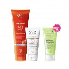 SVR - SVR Sun Secure Lait Invisible SPF50+ 250ML + Sun Secure Ecran Minéral Teinté SPF50+ peau normale à mixte