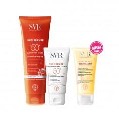 SVR - SVR Sun Secure Lait Invisible SPF50+ 250ML + Sun Secure Ecran Minéral Teinté SPF50+ peau séche