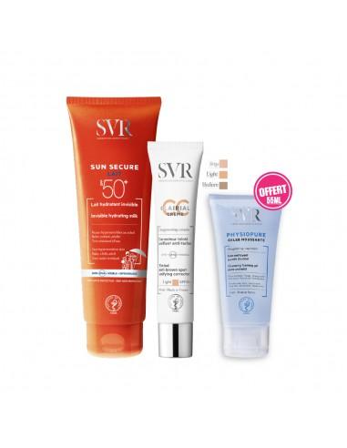 SVR - SVR Sun Secure Lait Hydratant Invisible SPF50+ 250ML + CLAIRIAL CC Crème LIGHT SPF50+ 40ML