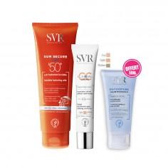 SVR - SVR Sun Secure Lait Hydratant Invisible SPF50+ 250ML + CLAIRIAL CC Crème BEIGE SPF50+ 40ML