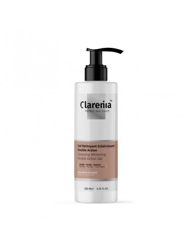 Clarenia - CLARENIA Gel Nettoyant Double Action Peaux Mixtes À Grasses