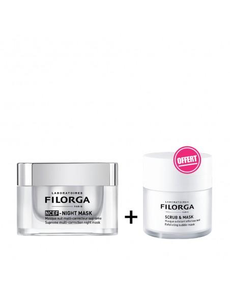 FILORGA - FILORGA NCEF NIGHT MASQUE 50ML + Scrub & Mask 55ml OFFERT