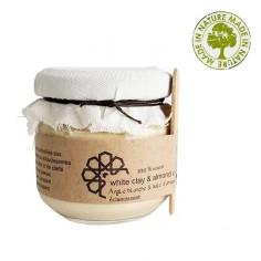 Eva Beauty - Masque argile blanche & huile d'amande - Evabeauty