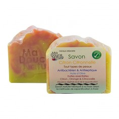 Ma douce nature - Savon citron citronnelle - Ma douce nature