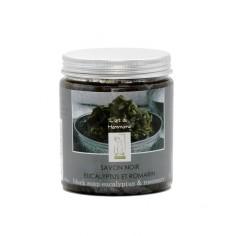 Savon noir romarin et eucalyptus